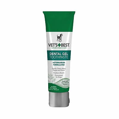 Vet's Best Enzymatic Dog Toothpaste | Teeth Cleaning and Fresh Breath Dental
