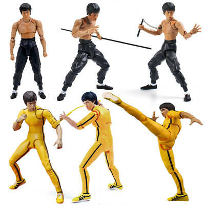 SHF Kung Fu Bruce Lee S.H.Figuarts Movable Action Figure PVC Collection Toy Gift