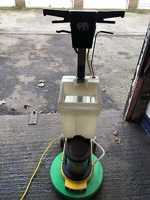 Numatic Floor Polisher Scrubber Buffer with tank boards and pads
