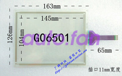 New for Toyota 6.5 inch 8-wire G06501 industrial touch screen glass