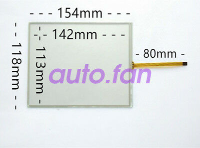 New for 6.5 inch AMT10515 car DVD/GPS tablet Resistive touch glass 154*118