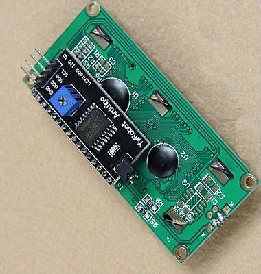 New Blue IIC I2C TWI 1602 16x2 Serial LCD Module Display for   FH