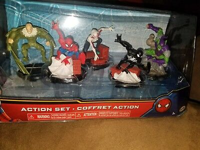 New in original package Marvel Comics Spider-Man 5 future action set ~ Jakks