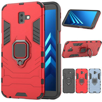 Shockproof Magnetic Stand Heavy Duty Case Cover For Samsung Galaxy J4 J6 Plus