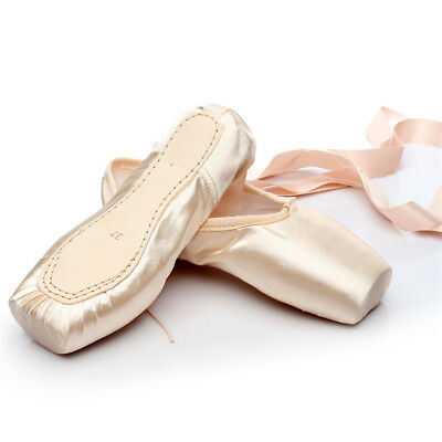 Hard Sole Ballet Shoes for Women Lady Girl Children Flat Pointe Toe Dance Shoes