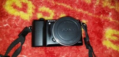 Sony Alpha a5000 20.1MP Mirrorless Digital Camera with 16-50mm OSS Lens