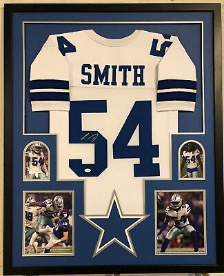 size 40 5084d 77ebd JAYLON SMITH SIGNED Custom XL Dallas Cowboys Jersey JSA COA ...