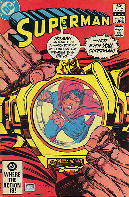 Superman #384 June 1983 VG DC Comics