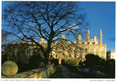 England - Cambridge  -  Clare and King's College  -  ca.1995