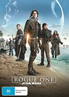 A Rogue One - Star Wars Story (DVD, 2017) Australian Stock