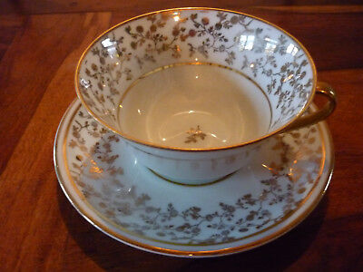 Tasse A The Ou Chocolat En Porcelaine De Limoges