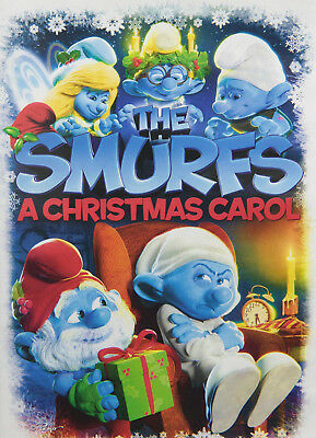 The Smurfs: A Christmas Carol DVD - Widescreen - Rated G - Brand New & Sealed!!!