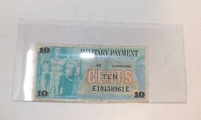 MPC Series 692  10  Cents  Miltary Payment Certificate (Y-1)