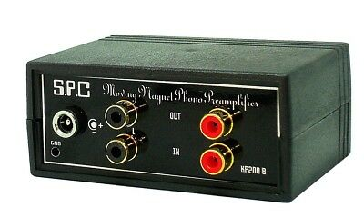 PHONO PREAMP STEREO Turntable  RIAA PREAMPLIFIER    KP200B BL