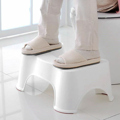 Toilet Squatty Step Stool Bathroom Potty Squat Easy For Constipation Pile Relief