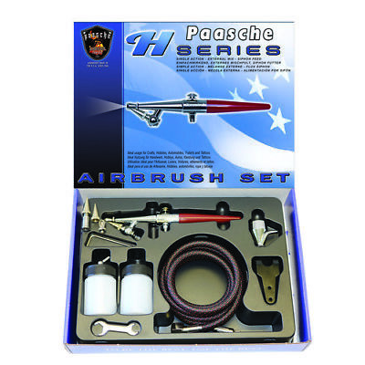 H single action airbrush Set - PAASCHE