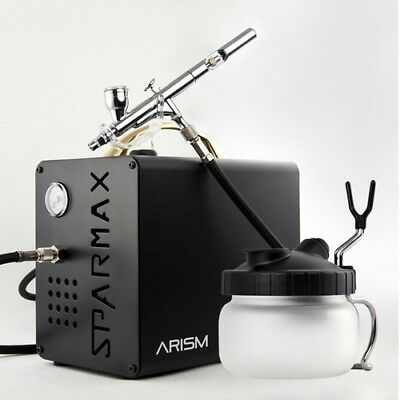 Sparmax ARISM Airbrush Compressor Kit