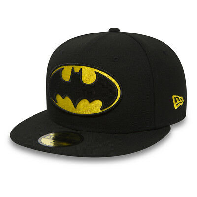 New Era 59FIFTY DC Comics Batman The Dark Knight Black Official Hat Fitted  Cap 8144ec3179a5