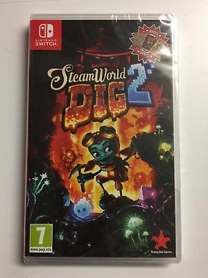 SteamWorld Dig 2 Nintendo Switch Game - New & Sealed