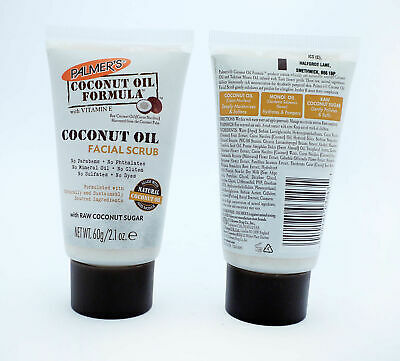 Palmers Coconut Formula Coconut Oil Facial Scrub 60g 1 2 3 Pack