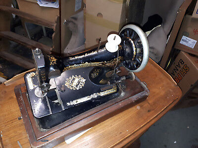 Sewing Machine Singer Hand Cranked Sewing Machine In Yeovil Cased