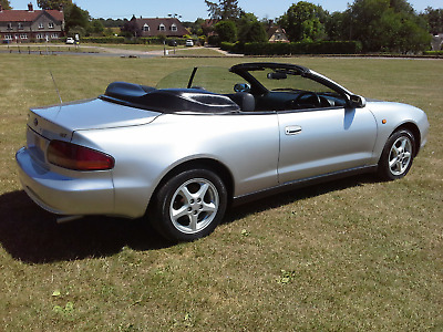 Toyota Celica Gt Convertible Power Roof ,leather Upholstery, History File ,mot