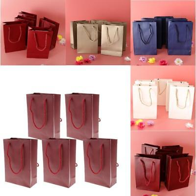 5pcs Christmas Wedding Party Paper Bags Sweet Candy Gift Shopping Loot Bag