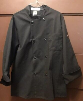 CHEF DESIGNS  BRAND CUFFED SLEEVE CHEF COAT Size Medium-Unisex