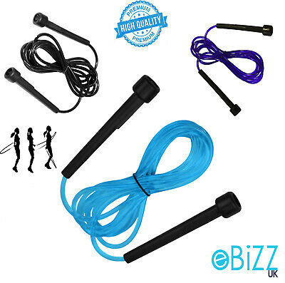Skipping Rope Adjustable Exercise Fitness Speed Jump Boxing Workout Kit 3m 10ft