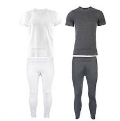 New Kid's Unisex Thermal Warm Winter Under Layer T Shirt & Long Johns Set