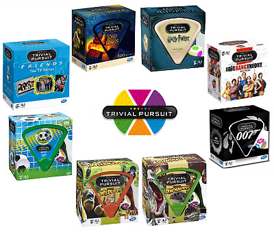 TRIVIAL PURSUIT SPECIAL EDITIONS WORLDS BEST QUIZ BOARD GAME CHOOSE EDITION Gift