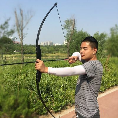 Recurve Bow for Right Hand Wooden Archery Bow Outdoor Shooting Hunting Bow
