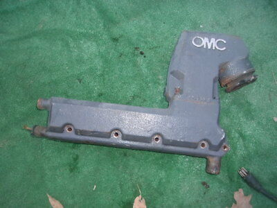 OMC Stringer Cobra Port 305 350 GM Exhaust Elbow Manifold and Riser