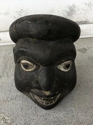 Antique African Mask Young Boy Head This Is An Old One Estate Fresh