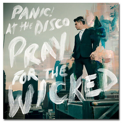 Panic! At the Disco Pray For the Wicked Poster Album Cover Print Wallpaper