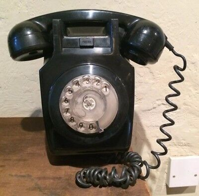Vintage Pye Telephone With Wall Bracket