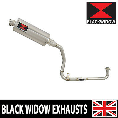 MSX 125 GROM High Exhaust System + Oval Stainless Silencer 300SS