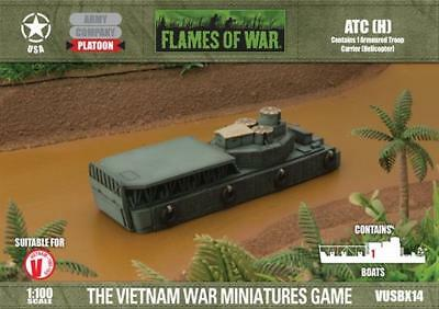 Battlefront FoW Vietnam USA 15mm Armoured Troop Carrier (Helicopter) Box SW