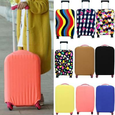 Fashion Travel Luggage Cover Protector Elastic Seersucker Anti-scratch Dustproof