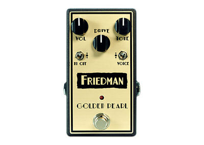 Friedman Amplification Golden Pearl Overdrive DEMO
