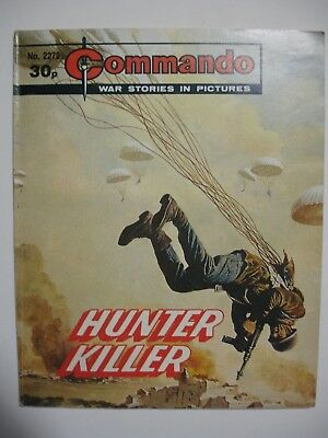 COMMANDO comic No 2272 HUNTER KILLER