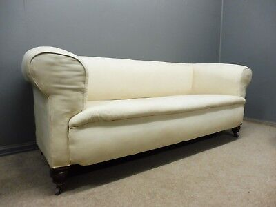 ANTIQUE VICTORIAN CHESTERFIELD SOFA  circa 1890