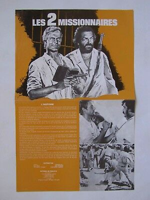 TERENCE HILL - BUD SPENCER 2 dossiers de presse