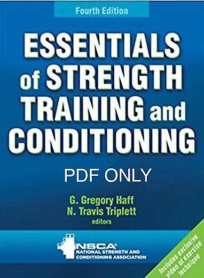Essentials of Strength Training and Conditioning 4th Edition ~HIGH QUALITY {PDF}