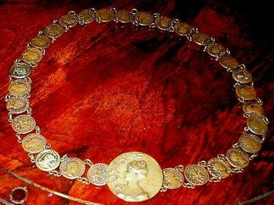 French Gilt 19th Century Belt - length 27 inches