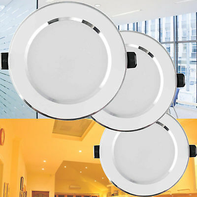Dimmable LED Panel Downlight Recessed Ceiling Light 5W 7W 9W 12W 15W 18W Lamp BE