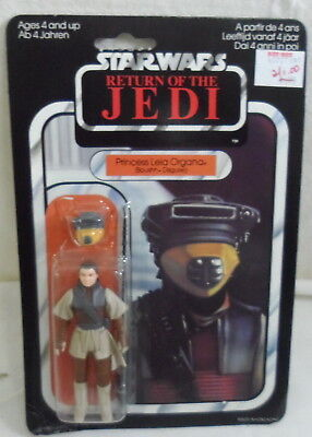 1983 Palitoy Princess Leia Organa-Return Of The Jedi NIP            Sku-3739