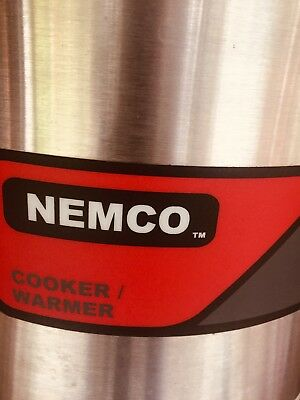 Nemco - 6102A - 7 Qt Round Counter Top Cooker / Warmer - Slightly Used