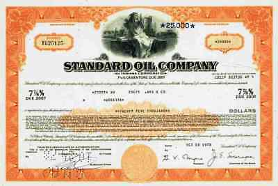 Standard Oil Company Of Indiana 1978 Cleveland Chicago BP Amoco Oil Tankstellen