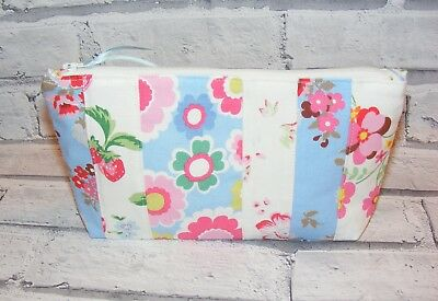 Strawberry Circus Petal Clover Handmade Cath Kidston Fabrics Make Up Bag